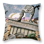 Ozymandias Throw Pillow