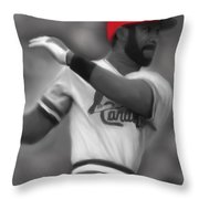 Ozzie Smith Throw Pillow