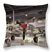 P-38 Lighting Marge Throw Pillow