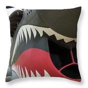 P-40 Warhawk - 2 Throw Pillow