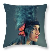 P E A C E - M A N  Throw Pillow