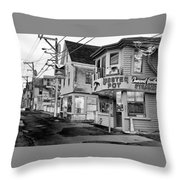 P-town Lobster Pot Throw Pillow