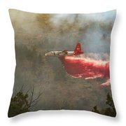 P2v In Ferguson Canyon Throw Pillow