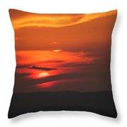 Pa Sunset Throw Pillow