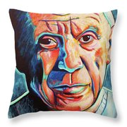 Pablo Picasso Throw Pillow