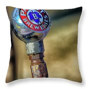 Pabst Breweries Throw Pillow