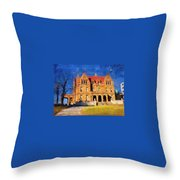 Pabst Mansion Throw Pillow