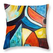 Pace And Place Throw Pillow