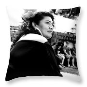 Pacific Arts Festival Throw Pillow