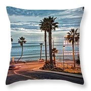 Pacific And 1st Street Throw Pillow