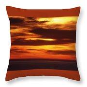Pacific Backdrop  Throw Pillow