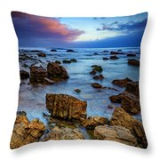 Pacific Blue At Pelican Point Throw Pillow