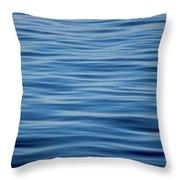Pacific Brush Strokes Throw Pillow