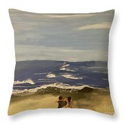 Pacific Coast Experience  Throw Pillow