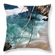 Pacific Coastline  Throw Pillow