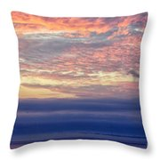 Pacific Colors Throw Pillow