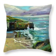 Pacific Dawning Throw Pillow
