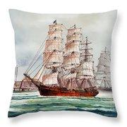 Pacific Fleet Throw Pillow