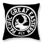 Pacific Great Eastern Throw Pillow