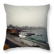 Pacific Grove California Usa Throw Pillow