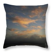 Pacific Grove Sunrise Throw Pillow