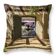 Pacific House Gardens Throw Pillow