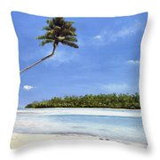 Pacific Throw Pillow
