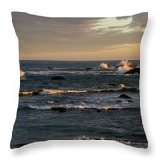 Pacific Ocean After The Storm Throw Pillow