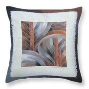Pacific Palms IIi Throw Pillow
