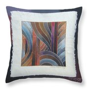 Pacific Palms V Throw Pillow