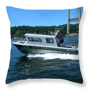 Pacific River Freedom Throw Pillow