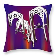 Pacific Science Center Arches 2 Throw Pillow