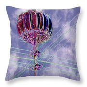 Pacific Science Center Lamp 2 Throw Pillow