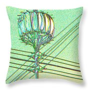Pacific Science Center Lamp Throw Pillow