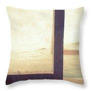 Pacific Window Throw Pillow
