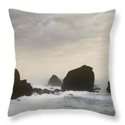 Pacifica Surf Throw Pillow