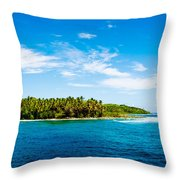 Perfectly Pacific Throw Pillow