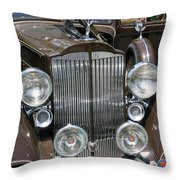 Packard Club Sedan Hood Throw Pillow