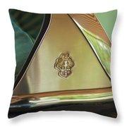 Packard Emblem 2 Throw Pillow