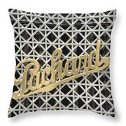Packard Grill Throw Pillow