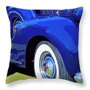 Packard Palm Springs Throw Pillow