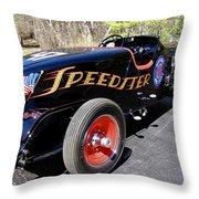 Packard Speedster  Throw Pillow by Alan Johnson