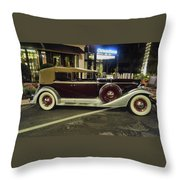 Packard Twelve Sedan Convertible Throw Pillow