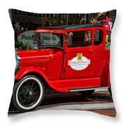 Packed For Christmas Throw Pillow