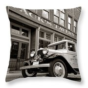 Pack's Tavern Nostalgia Throw Pillow
