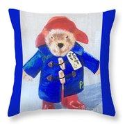 Paddington Bear Throw Pillow