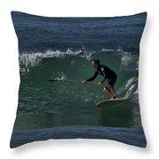 Paddleboarding 2 Throw Pillow