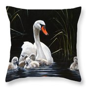 Paddling To A Different Drummer Throw Pillow