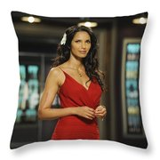 Padma Lakshmi Throw Pillow