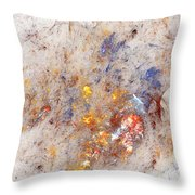 Paean To Pollack Throw Pillow